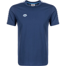 arena Team T-Shirt Uomo, navy/white/navy